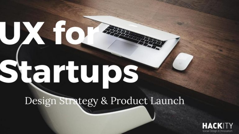 Workshop UX for startups