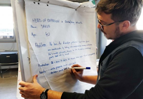 Placeme working on Personas